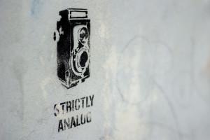 Analog graffiti