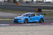 Polestar Cyan Racing Volvo S60 of F.Ekbloom